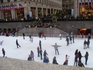 Rockefeller Center skating rink