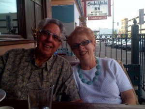 Mom & Dad, Spokane may 2010